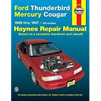 [(Ford Thunderbird and Mercury Cougar (1989-97) Automotive Repair Manual)] [Author: Ken Freund] published on (June, 1998)