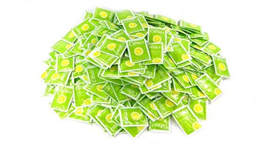 Lingettes rafraîchissantes Lingettes humides emballées individuellement