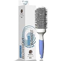 Cepillo redondo PRO para secador - Cepillo de pelo redondo mediando - Cepillo cerámico ionico - Cepillo modelador.