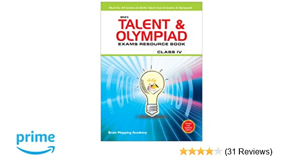 Buy BMA's Talent & Olympiad Exams Resource Book for Class 4