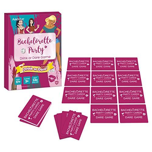 abschied Trinken oder Wagen Brettspiel-Kartenspiel Junggesellinnenabschied Idee Girls Night Out Trinken oder Wagen Spiel Set Zubehör ()