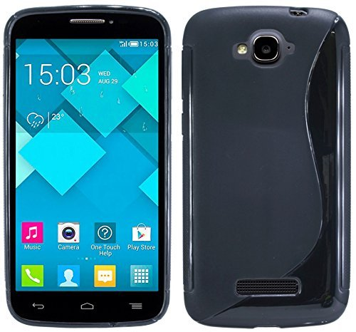 S-Line TPU SchutzHülle für Alcatel One Touch Pop C7 (7041D) Silikon Hülle...