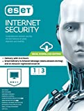 #9: Eset Internet Security - 1 User, 3 Years (Email Delivery in 2 hours- No CD)