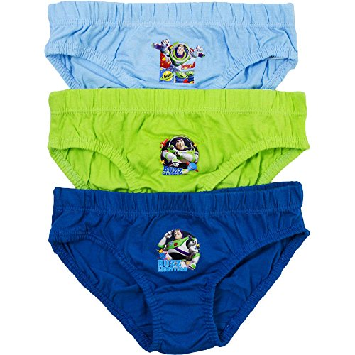 Boy's Disney Toy Story Buzz Lightyear Hipster Briefs Pants Set (3 Pair Pack) Test