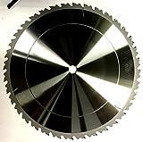 Profi Nagelfeste Brennholzsägeblatt Bausägeblatt DM 600mm mit 42 langen Wechselzahn Kreisägeblatt für allen Tischkreissägen oder Wippsägen
