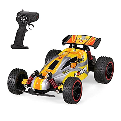 Goolsky RUI CHUANG QY1801A 1/18 2.4G 2CH 2RM Electrique hors Route Buggy Cross-country Racing RC Voiture