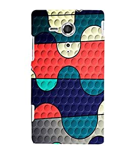 EPICCASE Paint palette Mobile Back Case Cover For Sony Xperia SP (Designer Case)