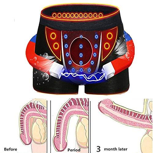 AimdonR Herren Magnetfeldtherapie Gesundheit Unterwäsche Milch Seide 36 Strong Magnetic,weiche Höschen-Boxershorts für den Frühling