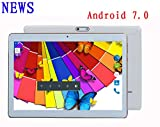 NEWS MaiTai 10 Inch Tablet Pc Android 7.0 2560*1600 Tablets PC Octa Core Dual sim card Phone Call GPS Bluetooth 64G ROM 4G RAM 8 9 7 White
