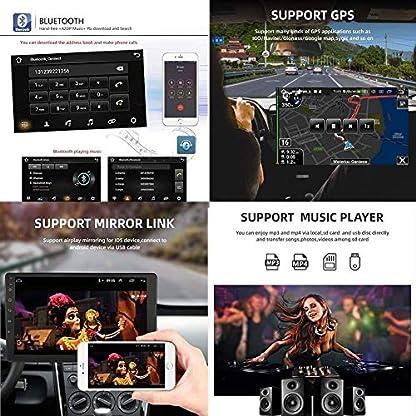 GLFDYC-Android-81-Car-GPS-Navigation-Radio-TV-9-Zoll-Full-Touch-Screen-Bildschirm-Autoradio-fr-Old-Mazda-6-2002-2008-mit-Lenkradkontrolle-Bluetooth-Mirror-DAB-USB-FM-AM-MP5