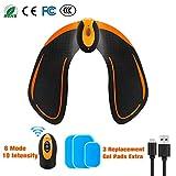 FishOaky Electrostimulateur Musculaire Fesser, Hip...