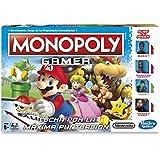 Hasbro Gaming - Juego de mesa Monopoly Gamer, versión Mario Bros  (C1815105)