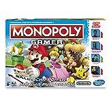 Monopoly Hasbro Gaming - Juego de Mesa Gamer, versión Mario Bros  (C1815105)