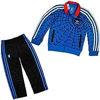 Adidas Originals Spiderman Baby Jogger.Bella Adidas Jogger dal Marvel Spiderman aus der Adidas Originals collezione. Il baby Jogger di Adidas ha una cerniera e due tasche della giacca. La giacca è morbido interno felpato, ha polsini e le mani...