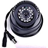 Secure-U Generic CCTV Dome 24 Hour Day/Night Vision Inbuilt DVR/ Memory Slot With Tv Video Output