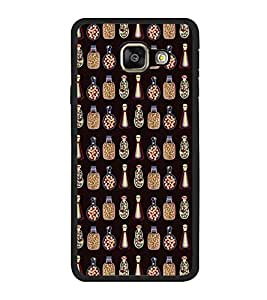 PrintVisa Designer Back Case Cover for Samsung Galaxy A3 (6) 2016 :: Samsung Galaxy A3 2016 Duos :: Samsung Galaxy A3 2016 A310F A310M A310Y :: Samsung Galaxy A3 A310 2016 Edition (Chemistry Lab Gas Jar Conical Flask)