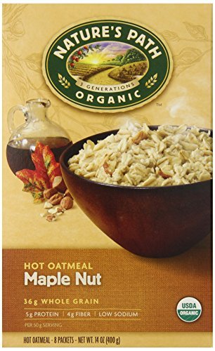 natures-path-organic-instant-hot-oatmeal-maple-nut-8-count-boxes-pack-of-6-by-natures-path