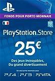Carte Playstation Network 25 E...
