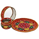 Agastya Set of 3 Multicoloured Stainless...
