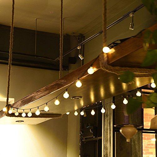 Stringa di Luci da Esterno, Luci Decorative di Natale Alimentate a Batteria con 8 Modalità e 30 ...