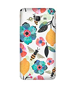 Watercolour Honey Bee Back Cover Case for Samsung Galaxy Grand Prime