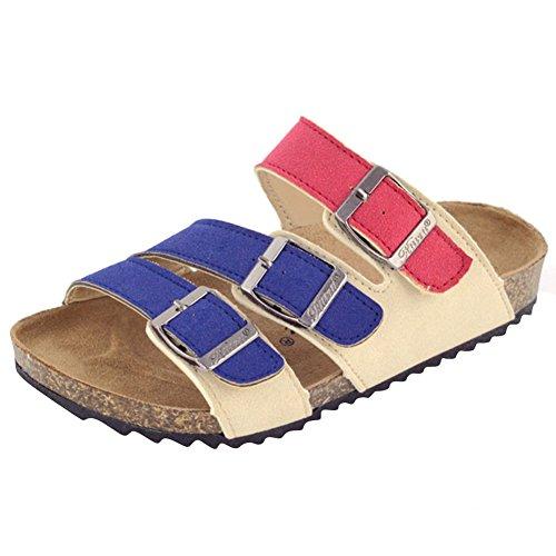 ZhuiKun Sandales Multicolores Mixte Enfant - Mules Garçon - Chaussons pour Fille