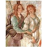 Reproduction d'art Venere Offre Doni Botticelli 25 x 30 cm Plastifié