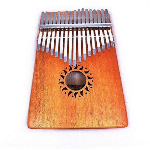Kalimba 17 Keys Daumenklavier Mit Tuning Hammer Und Zubehör Ideal for Einsteiger Und Spezialisten Marimbaphone