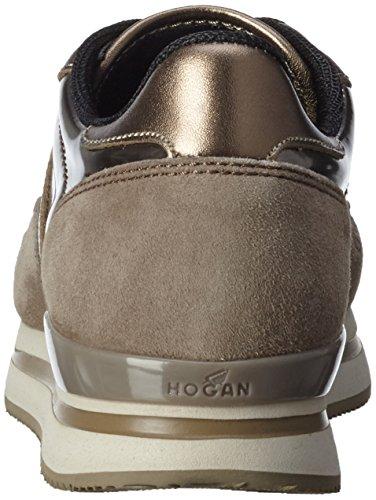 Hogan - Hxw2220m46775p47zl, Scarpa Donna Multicolore (B209(ARGILLA CH.)+C407(PALUDE)+B203)