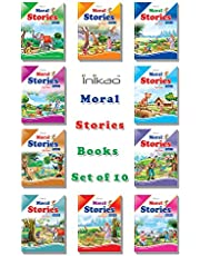 Story Books set of 10 in English with 101 Moral Stories from Inikao