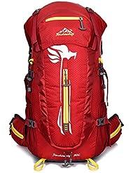 De gran capacidad mochilas los deportistas a prueba de agua al aire libre que montan mochila