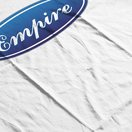 Star Wars Rogue One Empire Ford Car Badge Men's T-Shirt White