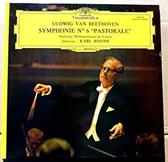 """1 Disque Vinyle LP 33 Tours - Deutsche Grammophon 2530 142 - Beethoven - Symphonie N°6 """"Pastorale"""" - Karl Boehm - Orchestre Philharmonique de Vienne."""