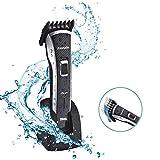 DSP Tagliacapelli Elettrico Professionale Tosatrice elettrica impermeabile ricaricabile Lunghezza dei capelli regolabile