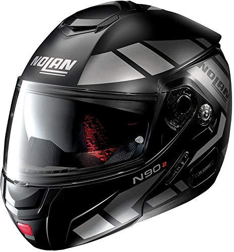 NOLAN N90-2 EUCLID N-COM FLAT BLACK M