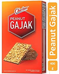 Charliee Gajak Peanut - Peanut Chikki - Indian Candy – Mittai - Indian Snack Food - 400 Grams - Traditional Indian Sweet – Popular Indian Desert - 400 Grams (Pack of 1)