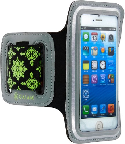gaiam-running-sport-armband-for-apple-iphone-se-5s-5-5s-5c-green