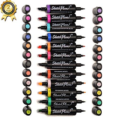 magicdor-12-dual-spitze-sketch-marker-pen-breite-und-feine-spitze-mischung-schattieren-kalligraphie-