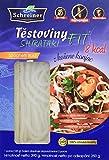 Schreiner Shirataki Espaguetis Gruesos sin Gluten - Paquete de 4 x 390 gr - Total: 1560 gr