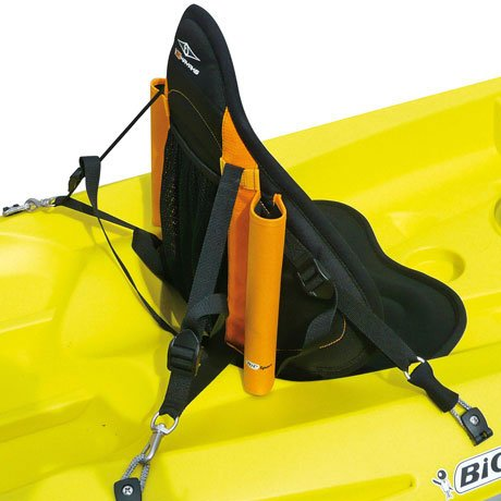 BIC Sport - Piece for Kayaks and canoes, Color Black / Orange, Size UK: 220cm