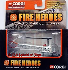 CORGI - Authentic Replica - Showcase Collection - Fire Heroes - Bell - 47 Helicopter LA City - CS90045