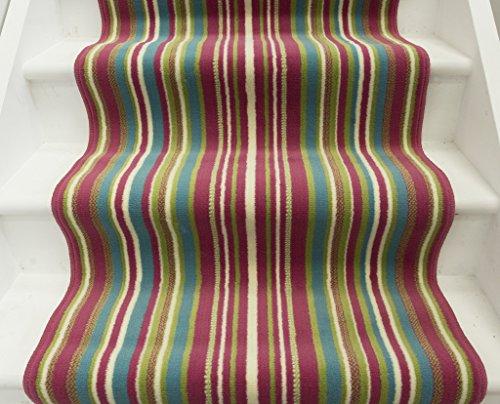 Lima tappeto passatoia per scala fatto su misura motivo a