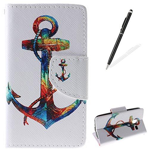 iPhone-SE5S5-Custodia-con-Gratuito-HD-Proteggi-schermo-CaseHome-Unico-Colorato-Disegno-Modello-Premio-PU-Pelle-Portafoglio-Capovolgere-Caso-Foglio-Stile-del-Libro-Magnetico-Design-con-Slot-Titolare-De