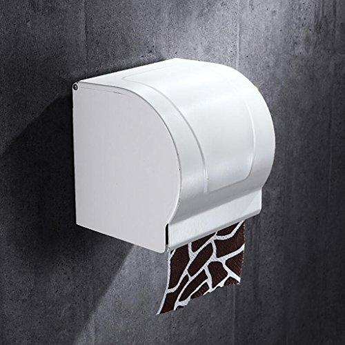 Matériel de salle de bains de mur accrochant moderne moderne en aluminium de boîte de papier de petit pain de salle blanche Rollsnownow