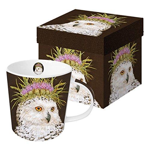 PPD Snow Queen Trend Kaffeebecher, Kaffeetasse, Kaffee Becher, New Bone China, Mehrfarbig, 350 ml, 602638