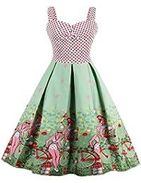 Dissa M1500 Damen Rockabilly 50er Vintage Retro Kleid Partykleider Cocktailkleider