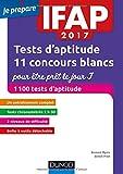 IFAP 2017 Tests d'aptitude : 11 concours blancs pour être ...