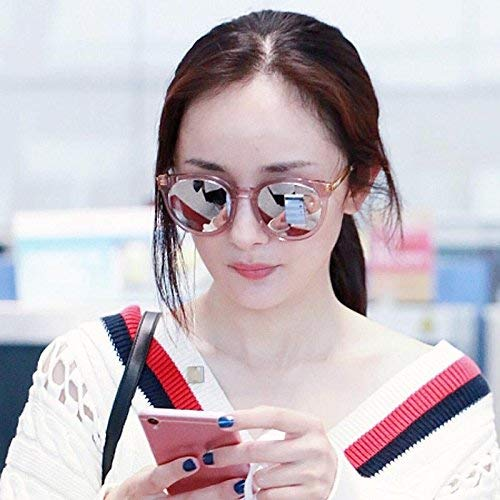 Sonnenbrillen weiblichen 's Stil der koreanischen Persönlichkeit runden Gesichtern sind Teil des Lichts Sonne Spiegel weiblich die Flut Laufwerk Brille