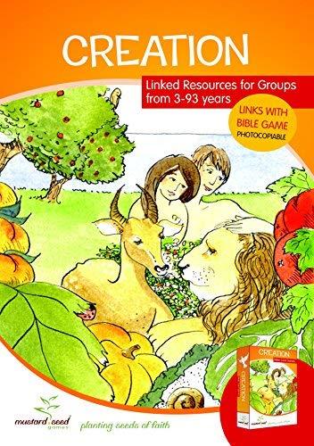 Creation Bibel Aktivität und Ressourcen Book Plus Card Games Pack