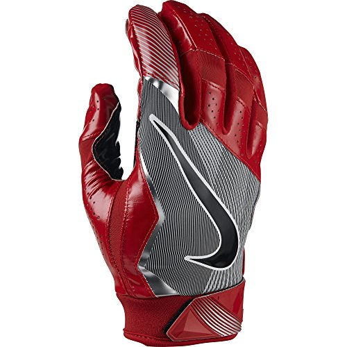 Nike Vapor Jet 4 American Football Handschuhe Receiver - University Red/Team Crimson/Black (Large)